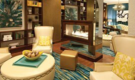 Vinoy Renaissance Commercial Fireplaces Built-In Fire Idea