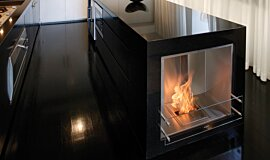 Kitcheners Single Sided Fireboxes BK Burners Fireplace Insert Idea