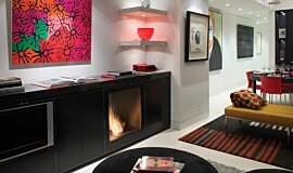 Private Residence Single Sided Fireboxes BK Burners Fireplace Insert Idea