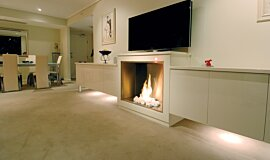 Form Premium Fireplace Series Built-In Fire Idea