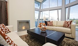 North Coogee Premium Fireplace Series Built-In Fire Idea