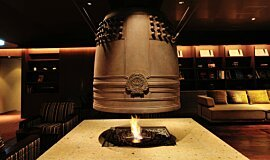 Chikusenso Mt Zao Onsen Resort & Spa Commercial Fireplaces Built-In Fire Idea