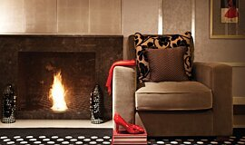 Wyndham Grand Hotel Commercial Fireplaces Built-In Fire Idea