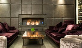 May Fair Bar Hospitality Fireplaces Ethanol Burner Idea