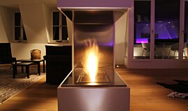Private Residence Ethanol Burners Built-In Fire Idea
