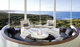Southern Ocean Lodge Ethanol Burners Built-In Fire Idea