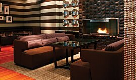 Westin Hotel Ethanol Burners Built-In Fire Idea