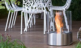 Chelsea Flower Show Freestanding Fireplaces Fire Pit Idea