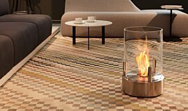 Commercial Space Indoor Fireplaces Fire Pit Idea