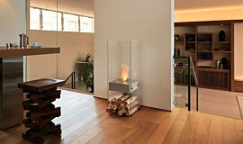 Commercial Space Indoor Fireplaces Designer Fireplace Idea
