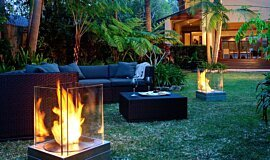 Private Residence Outdoor Fireplaces Fire Pit Idea