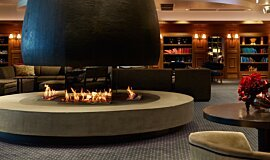 The Estreal Hospitality Fireplaces Ethanol Burner Idea