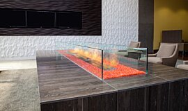 707 Wilshire Los Angeles Linear Fires Ethanol Burner Idea