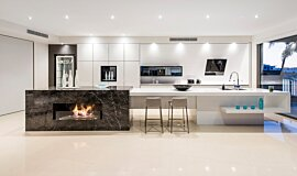 Enigma Interiors Kitchen Interior Designs Ethanol Burner Idea