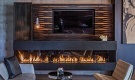 Hillside Residence XL Series Ethanol Burner Idea