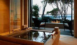 Hiramatsu Hotel & Resorts Hospitality Fireplaces Ethanol Burner Idea