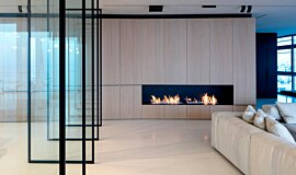 N Apartment Tel Aviv XL Series Ethanol Burner Idea