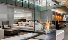 Nu Skin Innovation Centre Provo Commercial Fireplaces Ethanol Burner Idea
