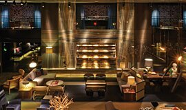 Paramount Hotel Commercial Fireplaces Ethanol Burner Idea