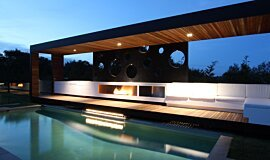 Portsea Private Pool Pavilion Ethanol Burners Ethanol Burner Idea