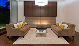 South Palm Canyon Residential Fireplaces Ethanol Burner Idea