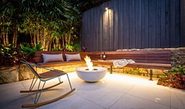 Stone Lotus Landscapes Mix Fire Bowls Fire Pit Idea