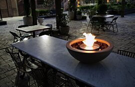 Installation Mix 600 Fire Pits by EcoSmart Fire