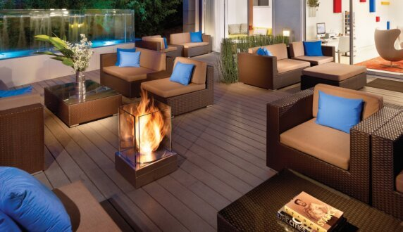 Mini T Simply And Beautifully Designed Ethanol Fireplace Ecosmart
