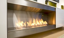 Paddington Residence Single Sided Fireboxes XL Burners Ethanol Burner Idea