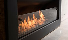 Max Brenner Single Sided Fireboxes XL Burners Fireplace Insert Idea