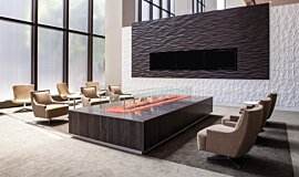 707 Wilshire Los Angeles Apartment Fireplaces Ethanol Burner Idea