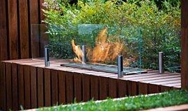 Melbourne International Flower and Garden Show Linear Fires Ethanol Burner Idea