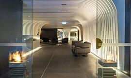 SKYE Suites Sydney Designer Fireplaces Designer Fireplace Idea
