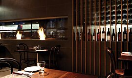 Hurricane's Grill & Bar Commercial Fireplaces Ethanol Burner Idea