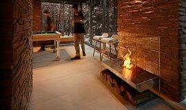 Commercial Space Designer Fireplaces Designer Fireplace Idea
