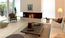 Schreinerei/Joinery Bernhard Schubert, Ebrach Indoor Fireplaces Ethanol Burner Idea