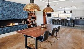 The Barns, UK Indoor Fireplaces Flex Fireplace Idea