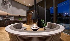 Hamton's Haven Development Indoor Fireplaces Ethanol Burner Idea