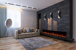 EL100 Indoor Fireplace - In-Situ Image by EcoSmart Fire