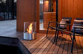 Glow Freestanding Fireplace - In-Situ Image by EcoSmart Fire