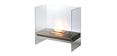 Igloo Designer Fireplace - Studio Image by EcoSmart Fire