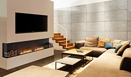 Living Area Residential Fireplaces Flex Fireplace Idea