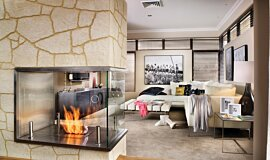 C Fire Builder Fireplaces Ethanol Burner Idea