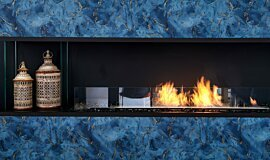 The Barns, UK Builder Fireplaces Flex Fireplace Idea