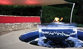Fabric Ten Landscape Fireplaces Ethanol Burner Idea