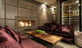 May Fair Bar Builder Fireplaces Ethanol Burner Idea