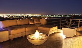 New American Home Residential Fireplaces Fire Pit Idea