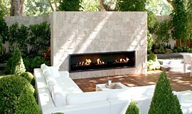 Melbourne International Garden and Flower Show Landscape Fireplaces Fireplace Insert Idea