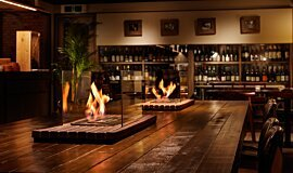 Restaurant La Cave Builder Fireplaces Ethanol Burner Idea