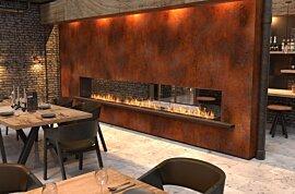 Flex 18DB Flex Fireplace - In-Situ Image by EcoSmart Fire